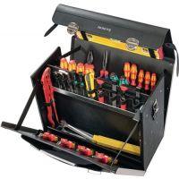 PARAT Werkzeugtasche B460xT210xH340mm 33l Rindsleder/HDPE PARAT