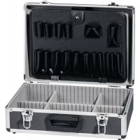Werkzeugkoffer B450xT330xH150mm Alu.