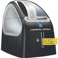 DYMO Etikettendrucker LabelWriter 450 Duo Schriftbandbreiten 6,9,12,19,24mm DYMO