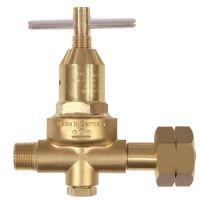 KAYSER Propankleindruckregler o.Manometer 0,5-6bar 18 kg/h W 21,8x1/14Zoll LH KAYSER