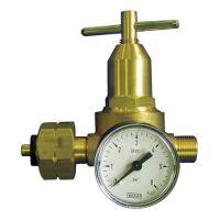 KAYSER Propankleindruckregler m.Manometer 0,5-6bar 18 kg/hW 21,8x1/14Zoll LH KAYSER