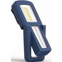 SCANGRIP LED-Akkuhandleuchte MINIFORM 3,7 V 1600 mAh Li-Ion 100-200 lm