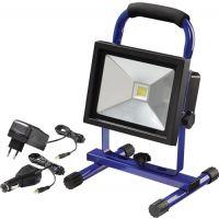 PROMAT LED-Strahler 20W ca.1400 lm Li-Ion 4400 mAh 7,4 V IP65