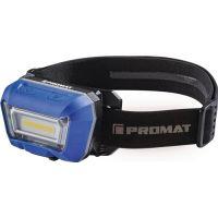PROMAT LED-Kopfleuchte 3,8 V 1600 mAh 1xLi-Ion Polymer 3 W Blisterverpackung PROMAT