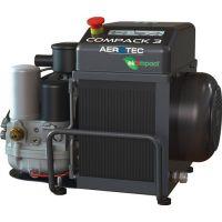 AEROTEC Schraubenkompressor Aerotec COMPACK 3 10bar 360l/min 400 V,50 Hz