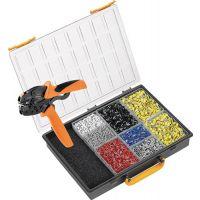 WEIDMÜLLER Aderendhülsensortiment 4501-tlg.0,50-16,00 mm² Ku.-Box WEIDMÜLLER