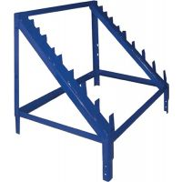 LOGS Gewindestangenaufsatz LOGS 60 H600xB540xT390mm blau RAL 5022 LOGS