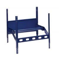 LOGS Abrollgerät LOGS 110 H520xB540xT390mm blau RAL 5022 m.2 Achsen LOGS