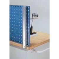 Rasterplan Werkbankhalterung f.Platten-L.1500/2000mm f.Loch-/Schlitzplatten Rasterplan