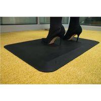 Arbeitsplatzbodenbelag Fertigmatte L500xB800xS16mm schwarz PU COBA