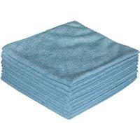 NORDVLIES Mikrofasertuch ECONOMY blau L400xB400ca.mm Textil 1 KT NORDVLIES