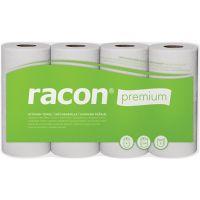 TEMCA Küchenrolle racon Premium K-2 B220xL250ca.mm weiß 2-lagig,perforiert 4 Rl./PAK