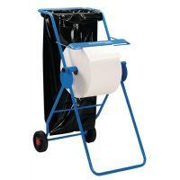 KIMBERLY-CLARK Bodenständer 6155 H1090xB500xT740ca.mm fahrbar,m.Halterung f.Abfallsäcke