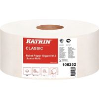 KATRIN Toilettenpapier Katrin Classic Gigant M 2 2-lagig 6 RL a 2720 Blatt=16320 Bl.
