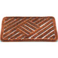 Fußmatte Kokosbürsten natur Kokos/Stahl L390xB590xS30mm