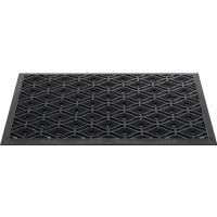 Fußmatte schwarz Gum.L450xB750xS15mm