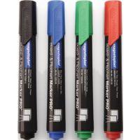 MAGNETOPLAN Boardmarker blau/grün/rot/schwarz Strich-B.1,5-3mm Rundspitze MAGNETOPLAN