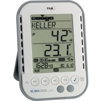 TFA Thermo-Hygrometer Messber.0 b.50GradC/Luft 1-99% H137xB98xT26mm Ku.