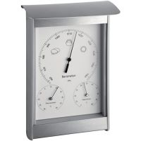 TFA Wetterstation H215xB145xT70mm silber/weiß Aluminium/Kunststoff f.innen/außen