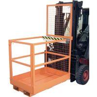 BAUER Arbeitsbühne B800xT1290xH1890mm gelborange lack.Trgf.300kg
