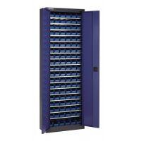 PROMAT Regalschrank H2000xB690xT285mm o.Türen anthrazitgrau 18 Fachböden 114xMK5 PROMAT