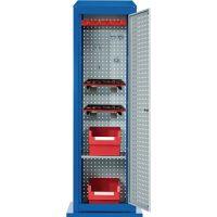 KAPPES Werkzeugcenter Tool Tower H2015xB700xT700mm 5Lochplatten,1Boden,1Tür stationär