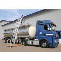 GÜNZBURGER Tankwagenleiter Typ 2 Alu.H5400xL3160xB2040mm Plattform-H.2970-4300mm