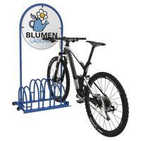 WSM Fahrradständer BW 5454 2-s.90Grad verz.Anz.Radstände 4 freistehend WSM
